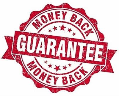 Boussant's Money Back Guarantee