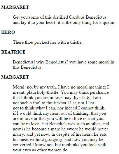 Blessed Thistle in Shakespeare