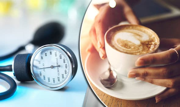 does coffee cause high blood pressure