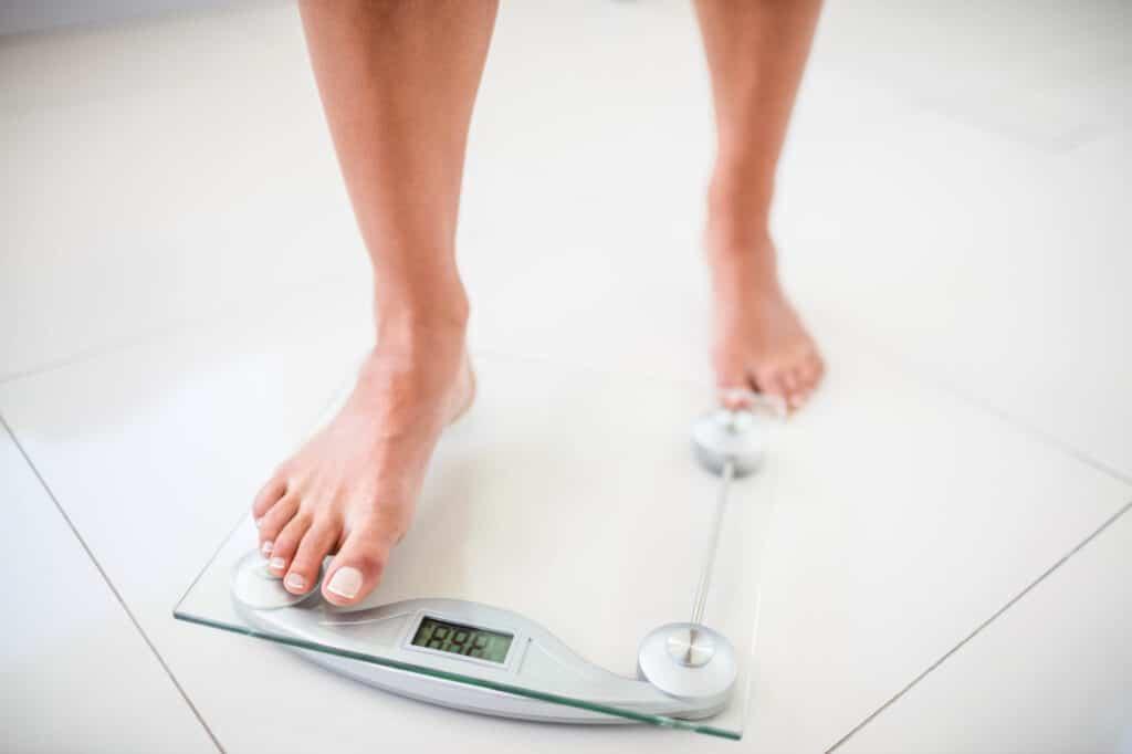 weight gain menopause